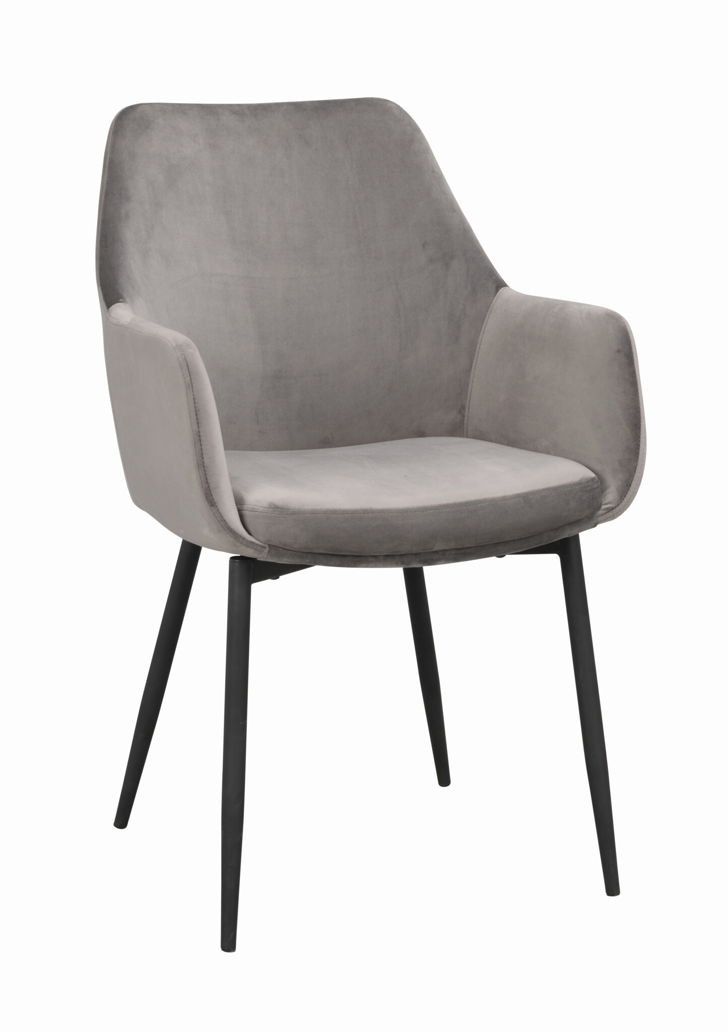 Ramsey arm chair Grey_black 110456 1
