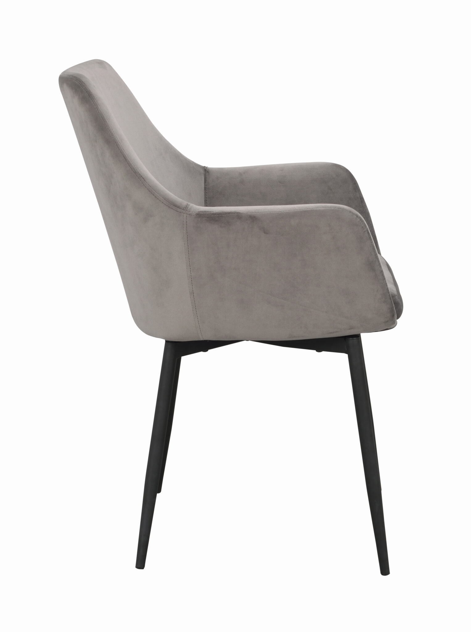 Ramsey arm chair Grey_black 110456 2